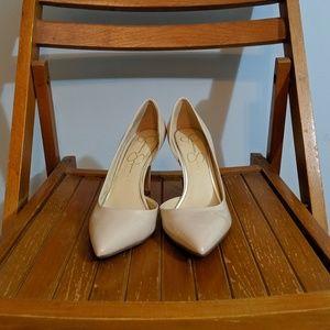 Jessica Simpson nude heels.